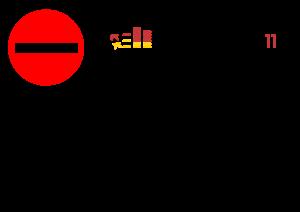Tuerschild - Stop Zensus