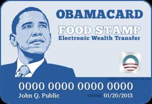 US-obama-food-stamp-card-Obamacare-ObamaScare