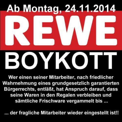 rewe boykott