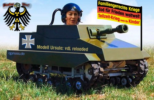 Kriegsministerin-von-der-Leyen-den-Laien-im-panzer-auf-dem-Weg-zur-Front-fuer-einen-kind-und-familiengerechten-Teilzeitkrieg-bundeswehr