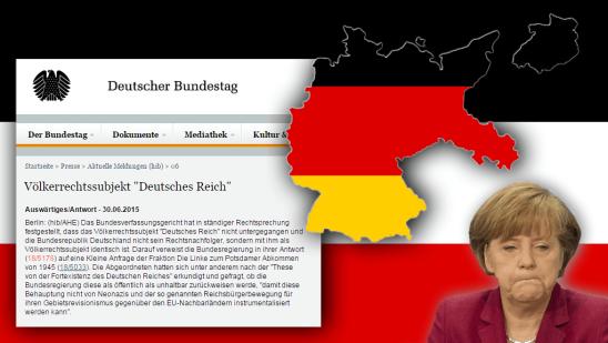 Deutsches Reich existiert bis heute!