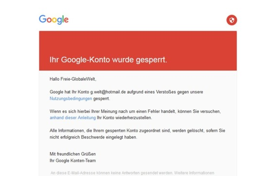google-konto